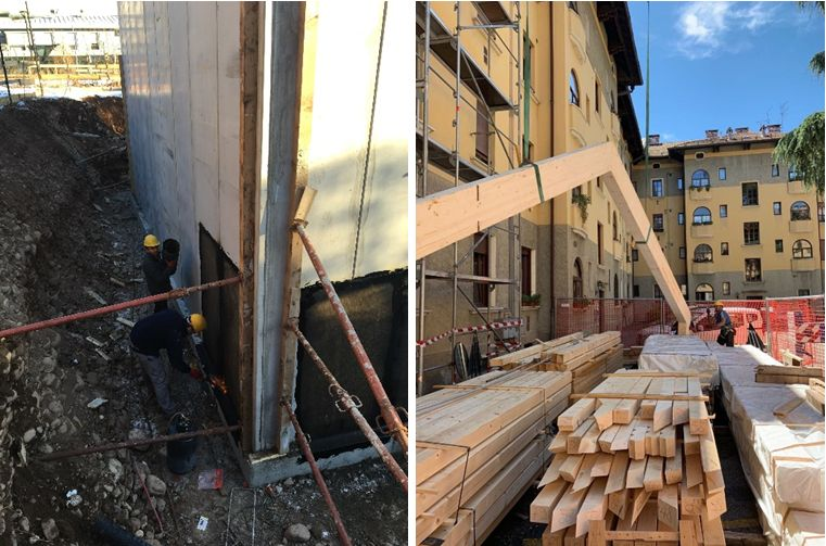 Gamma scavi: cantieri edili